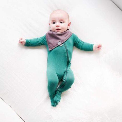 Kyte Baby Cocoa Brown Baby Toddler Bamboo Bib