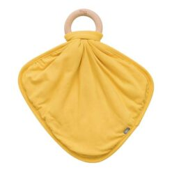 Kyte Baby Lovey in Pinnapple with Removable Wooden Teething Ring