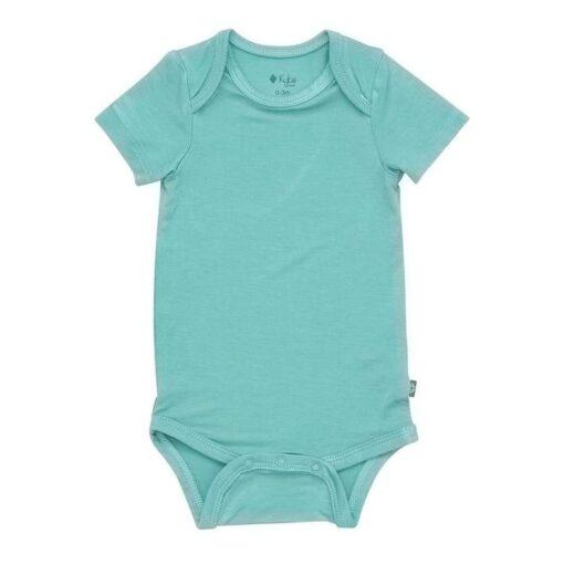 Kyte BABY Bodysuit in Jade