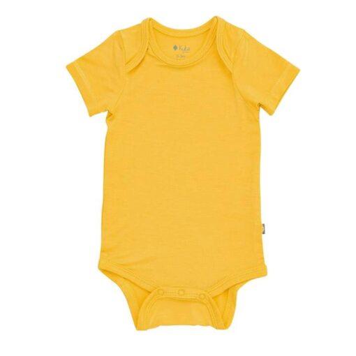Kyte BABY Bodysuit in Pineapple