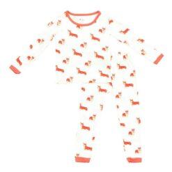 Kyte BABY Toddler Pajama Set in Corgi