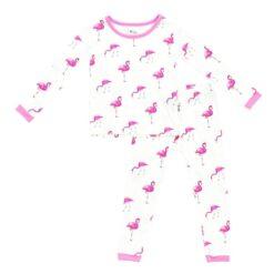 Kyte BABY Toddler Pajama Set in Flamingo