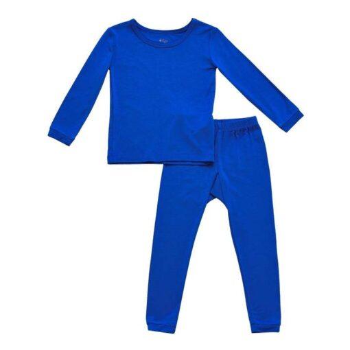 Kyte BABY Toddler Pajama Set in Indigo