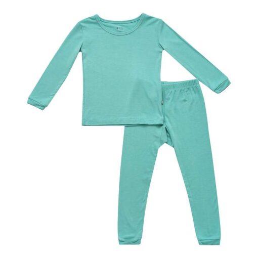 Kyte BABY Toddler Pajama Set in Jade
