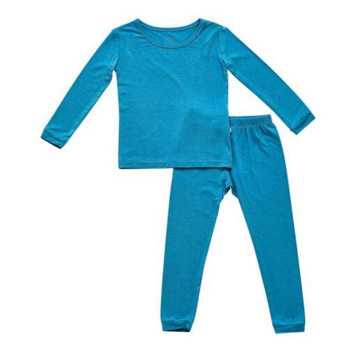 Kyte BABY Toddler Pajama Set in Lagoon