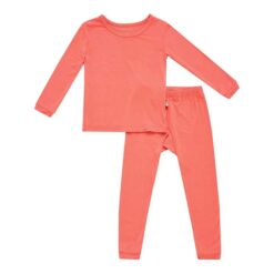 Kyte BABY Toddler Pajama Set in Melon