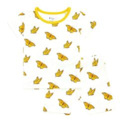 Kyte BABY Short Sleeve Toddler Pajama Set in Monarch
