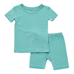 Kyte BABY Short Sleeve Toddler Pajama Set in Jade
