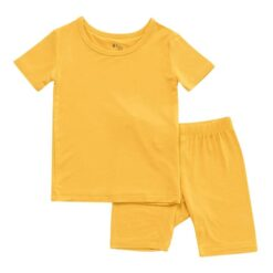 Kyte BABY Short Sleeve Toddler Pajama Set in Pineapple