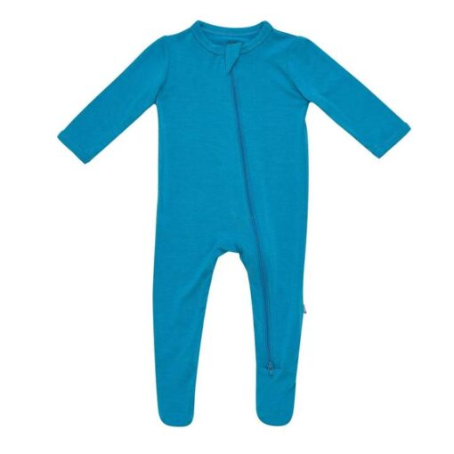 Kyte BABY Zippered Footie in Lagoon