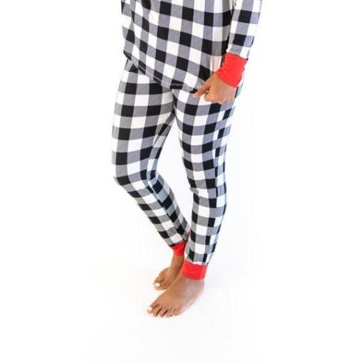 Little Sleepies Buffalo Plaid Pajama Pants