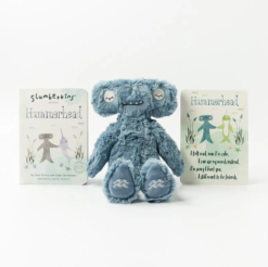 Slumberkins Hammerhead Kin and Board Book Bundle