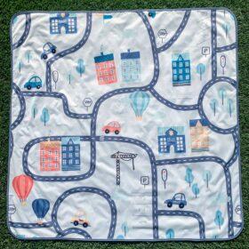BapronBaby Tiny Town Splash Mat Waterproof High Chair Mat