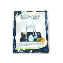 BapronBaby Outer Space Splash Mat Waterproof High Chair Mat