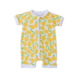 Little Sleepies Lemons Bamboo Viscose Shorty Zippy