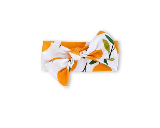 Little Sleepies Clementines Bow Headband
