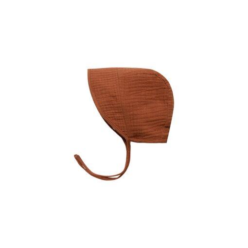 Rylee + Cru Brimmed Bonnet in Amber