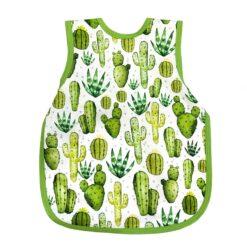 BapronBaby Desert Cactus Bapron Toddler Bib