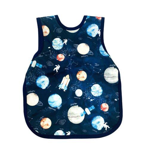 BapronBaby Outer Space Bapron Toddler Bib