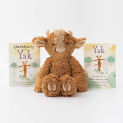 Slumberkins Yak Kin and Board Book Bundle