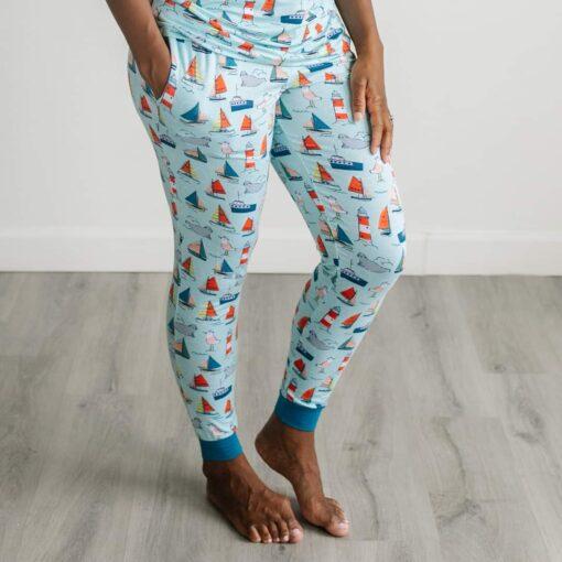 Little Sleepies Set Sail Women's Bamboo Viscose Pajama Pant