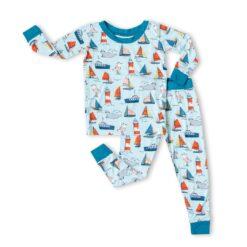 Little Sleepies Set Sail Bamboo Viscose Two-Piece Pajama Set