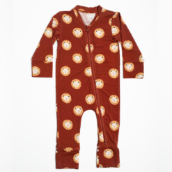 Willow+Co Lion Bamboo Footie