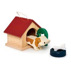 Tender Leaf Toys Pet Dog Wooden Play Set from Tender Leaf Toys