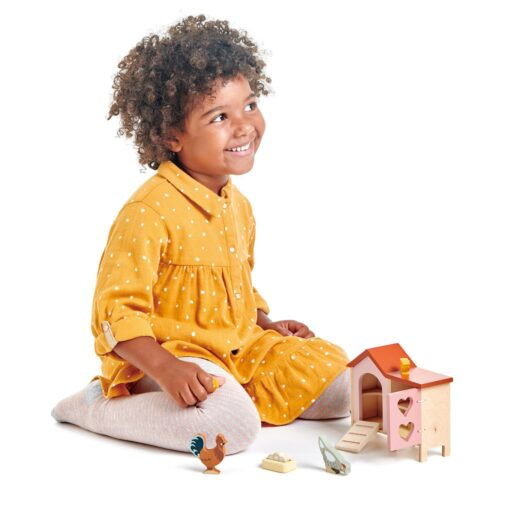 Tender Leaf Toys Chicken Coop Wooden Play Set