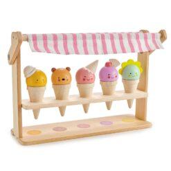 Tender Leaf Toys Scoops & Smiles Ice Cream Set from Tender Leaf Toys