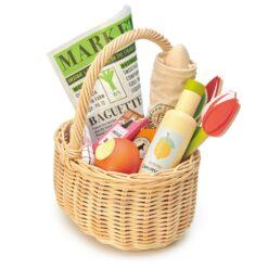 Tender Leaf Toys Wicker Shopping Basket from Tender Leaf Toys