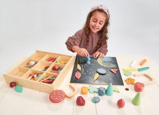 Tender Leaf Toys My Forest Floor Play Box