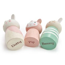 Tender Leaf Toys Bunny Tales Peg Rabbits from Tender Leaf Toys