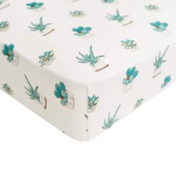 Kyte BABY Kyte BABY Crib Sheet in Succulent
