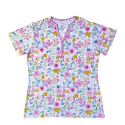 Little Sleepies Bella Blooms Short Sleeve Bamboo Viscose Women's Pajama Top