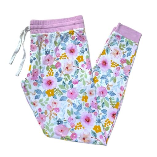 Little Sleepies Bella Blooms Bamboo Viscose Women's Pajama Pants