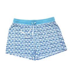 Little Sleepies Blue Rainbows Bamboo Viscose Women's Pajama Shorts