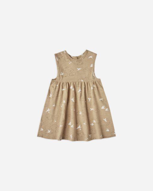 Rylee + Cru Clouds Layla Dress in Almond
