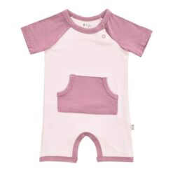 Kyte BABY Short All in Blush & Mulberry