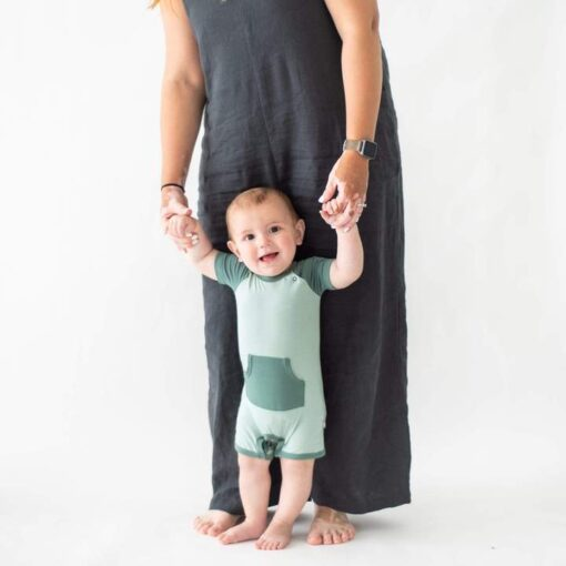 Kyte BABY Short All in Sage & Pine