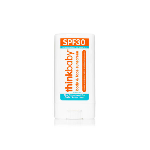 Baby body&face sunscreen stick from thinkbaby