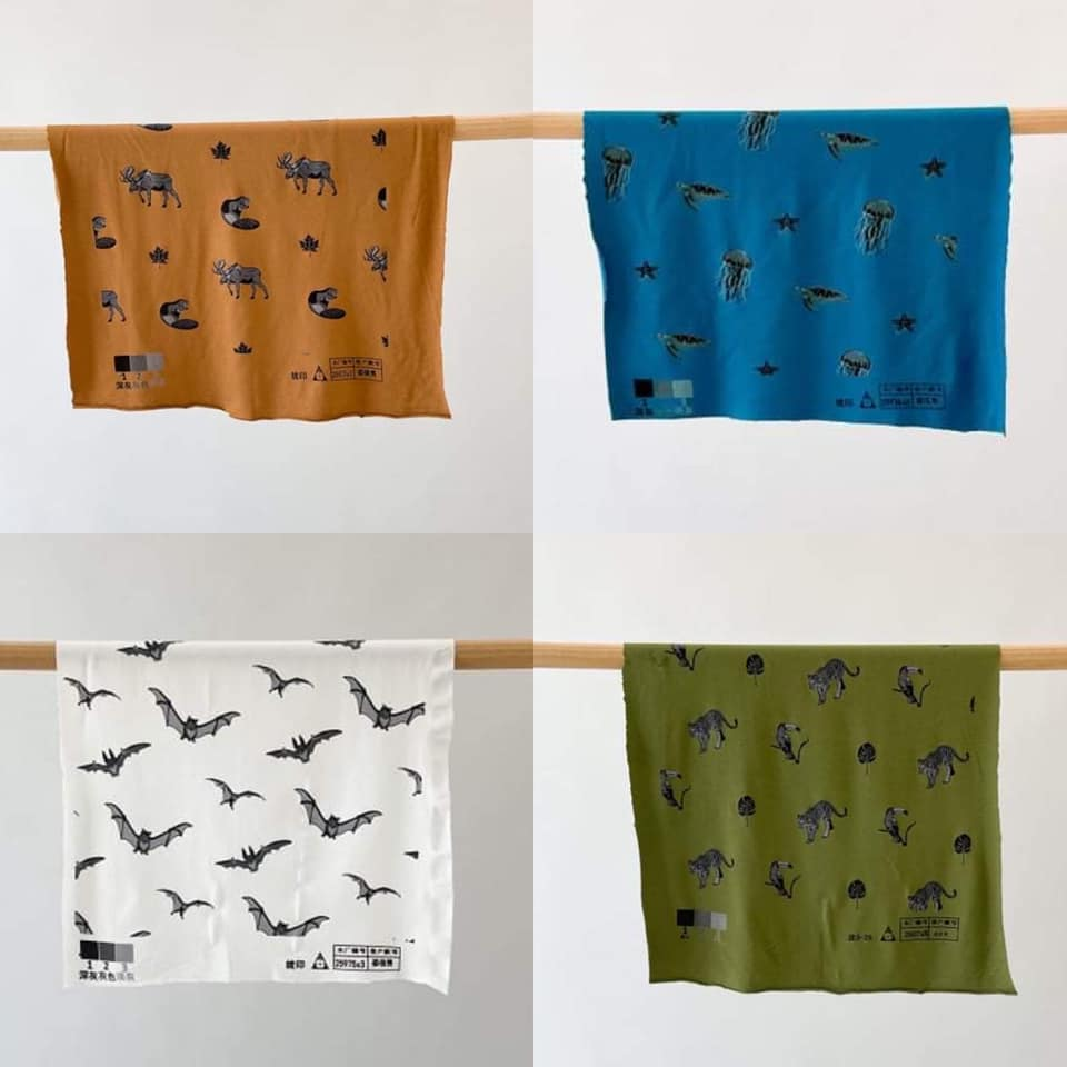 Kyte 2021 Fall Animal Prints