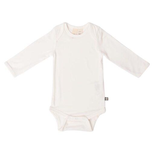Kyte BABY Long Sleeve Bodysuit in Cloud