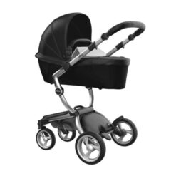 Mima Xari Silver Black and White Stroller Deal Built In Carrycot