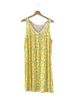 Little Sleepies Lemons Bamboo Viscose Women's Tank Nightgown