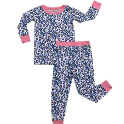 Little Sleepies Wild Leopard Bamboo Viscose Two-Piece Pajama Set