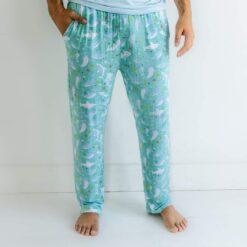 Little Sleepies Sharks Soiree Bamboo Viscose Men's Pants