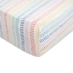 Kyte BABY Crib Sheet in Herringbone