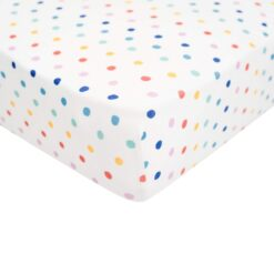 Kyte BABY Crib Sheet in Polka Dots