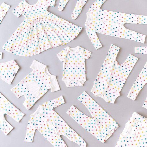 Kyte BABY Printed Bib in Polka Dots